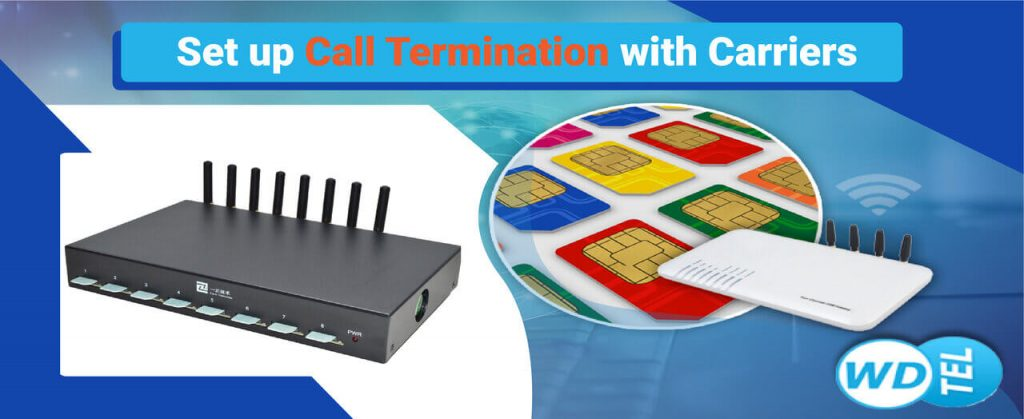 Call Termination with Carriers