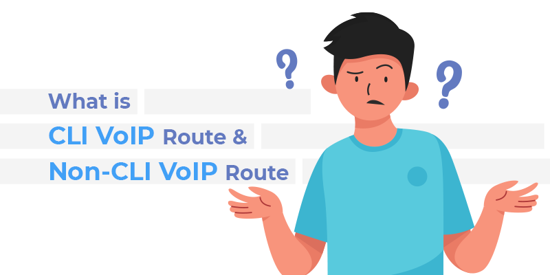 What is CLI Route and Non-CLI VoIP Route